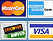 Payments by Amex, Master, Visa, Paypal and Discover