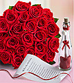 24 Roses With Message In Bottle at Kapruka Online