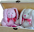 You and Me Bunnies Wooden Treasure Box at Kapruka Online